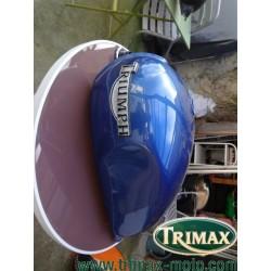 Réservoir Triumph classic bleu bon état