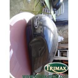 Réservoir Triumph classic gris pailleté très bon état