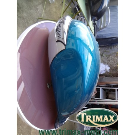 Réservoir Triumph classic bleu et gris très bon état