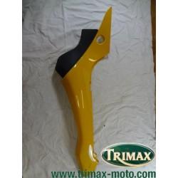 Flanc de selle gauche jaune Triumph Speed Triple ou Daytona n°8