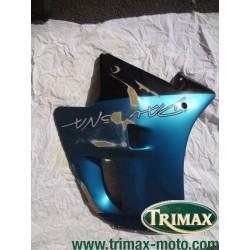Flanc de carénage gauche bleu Triumph Daytona n°3