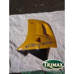 Flanc de carénage gauche jaune Triumph Daytona n°4