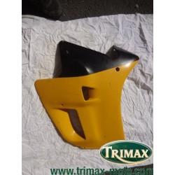 Flanc de carénage gauche jaune Triumph Daytona n°6