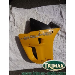 Flanc de carénage gauche jaune Triumph Daytona n°9