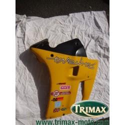 Flanc de carénage droit jaune Triumph Daytona  n°1
