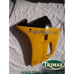 Flanc de carénage droit jaune Triumph Daytona n°9