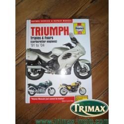 revue technique haynes 2162 Triumph 1991 / 2004 neuve
