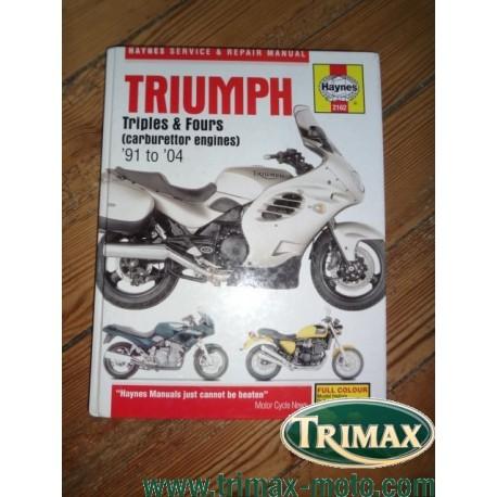 revue technique haynes 2162 Triumph 1991 / 2004