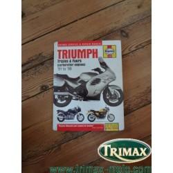 revue technique haynes 2162 Triumph 1991 / 1999 bon état