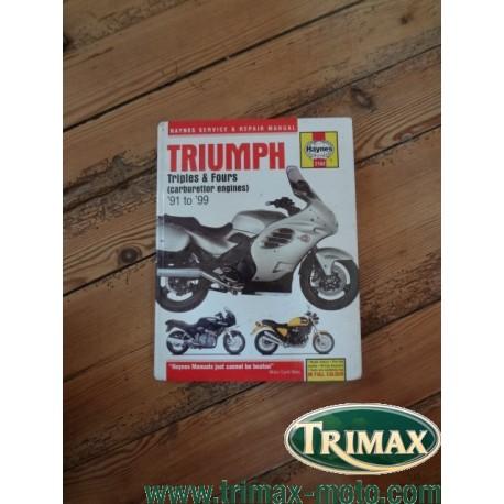 revue technique haynes 2162 Triumph 1991 / 1999