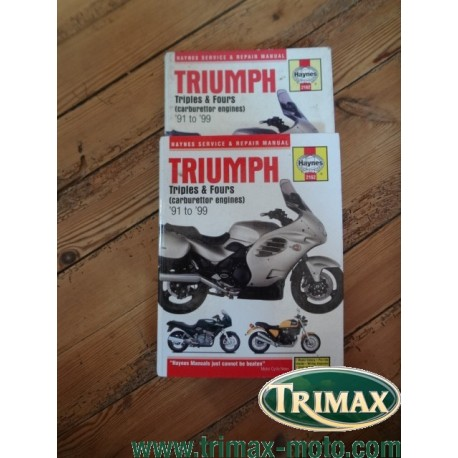 revue technique haynes 2162 Triumph 1991 / 2004 état correct