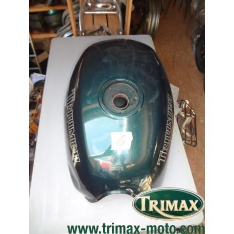 Réservoir Triumph standard n°6 vert anglais Triumph Trophy post 1996