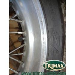 jante arrière akront aluminium  17*4.25 de thunderbird sport ou legend pour pneu en 160 pour classic et tiger