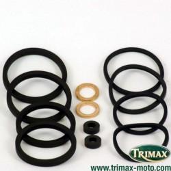 Kit de joints pour étrier 4 pistons de Triumph Nissin